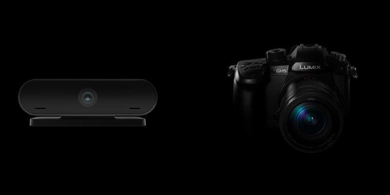 2b. WEbcam vs Professional Camera